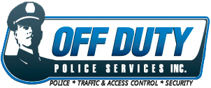 Off duty police logo